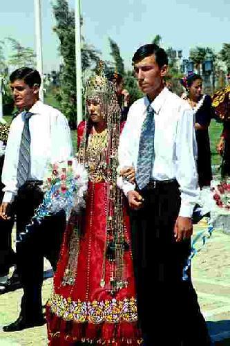 Свадебные платья туркменистан