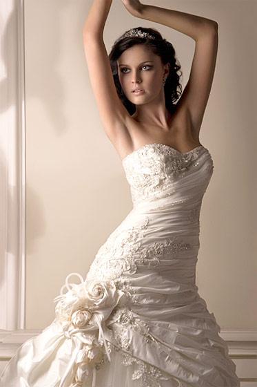 Очень дорогие свадебные платья